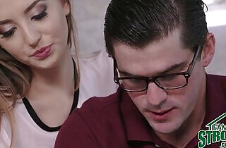 Step Sister Seduces Nerdy Brother xxx tube video