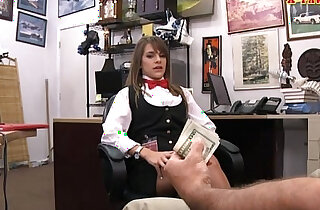 Card dealer sells her pussy pounded by horny pawn guy xxx tube video