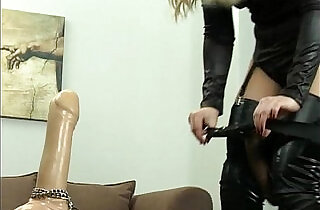 Femdom Strap on training xxx tube video