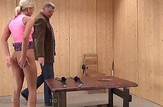 Mielas spanking xxx tube video