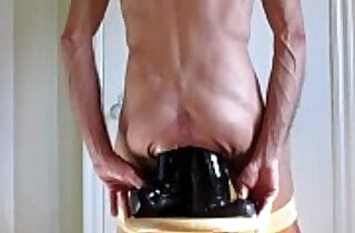 Panties Down For Double Fucking Anal Dildos xxx tube video