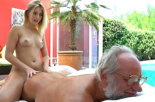 Aria Logan and her much older friend to Fuck Teens xxx tube video