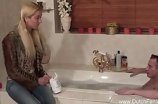 Pigtail Dutch Sister and Brother Fuck xxx tube video