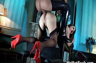 Cathy Heaven is happily masturbating with xxx tube video