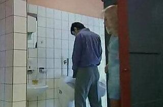 German mature gets fucked in public toilet xxx porn