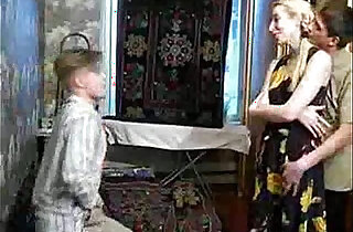 Naughty with her Son and his Friend xxx tube video