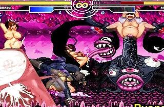 Kuromaru Vs Angel The Queen of Fighters xxx tube video