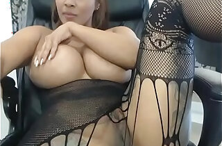Hot huge natural tits showing off her pussy xxx tube video